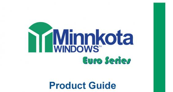 Product Guide - Euro Series Windows & Doors